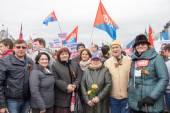 Labor day, unity, solidarity. — Foto de Stock