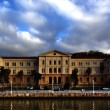 Постер, плакат: Front view of the University of Deusto in Bilbao Biscay Basque Country Spain