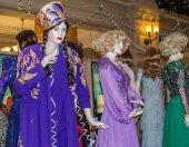 Fashion history exhibition — Stock Photo