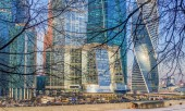 """Towers of """"Moscow-City"""" — Stock Photo"""