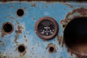 Rusty ammeter. — Stock Photo