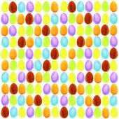 Easter egg pattern — Stock Photo