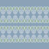 Mehndy flowers pattern — Stockvektor