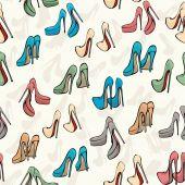 Padrão de sapatos — Vetor de Stock