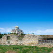 St Vladimirs Cathedral and Chersonese ruins — Stock Photo #78937096