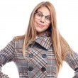 Young cool woman proud student — Stock Photo #62151245