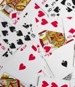 Decorative poker cards — Stock Photo