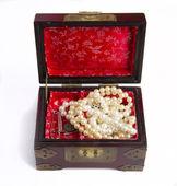 Retro Jewel chest — Stock Photo