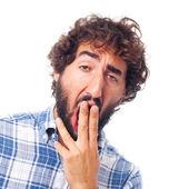 留胡子的年轻人 — 图库照片