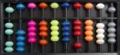 Colorful retro abacus — Stock Photo