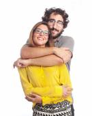 Young cool couple — Stockfoto