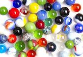 Colorful glass balls — Stock Photo