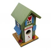 Retro birds house — Stock Photo