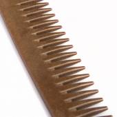 Close up brown comb — Stock Photo