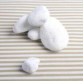 Sea White stones — Stock Photo