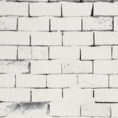 White ink bricks over paper — Stock Photo
