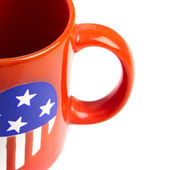 Close up red cup — Stock Photo