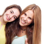 Young cool women friends — Stock Photo