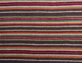 Stripes fabric texture — Stock Photo