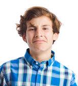 Teenager suffering gesture — Stock Photo