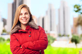 Young cool woman — Stock Photo
