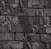 Piedra apilada de la pared — Foto de Stock