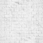 White bricks wall — Stock Photo