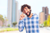 Young bearded man — Stock Photo