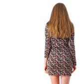 Back girl — Stock Photo