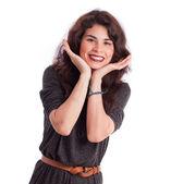 Smug girl posing — Stock Photo