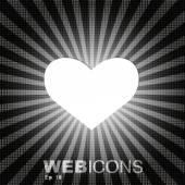 Heart sign — Stock Vector