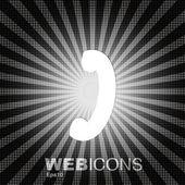 Vintahe telephone sign — Stock Vector