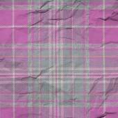 Wrinkle abstract squares fabric texture — Stock Photo