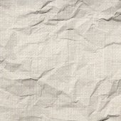 Creased canvas texture or background — Stock Photo