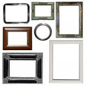 Group of photo frames — Stock Photo