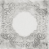 Abstract barroco frame — Stock Photo