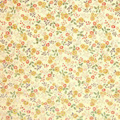 Vintage flower fabric texture — Stock Photo