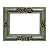 Empty square photo frame — Stock Photo