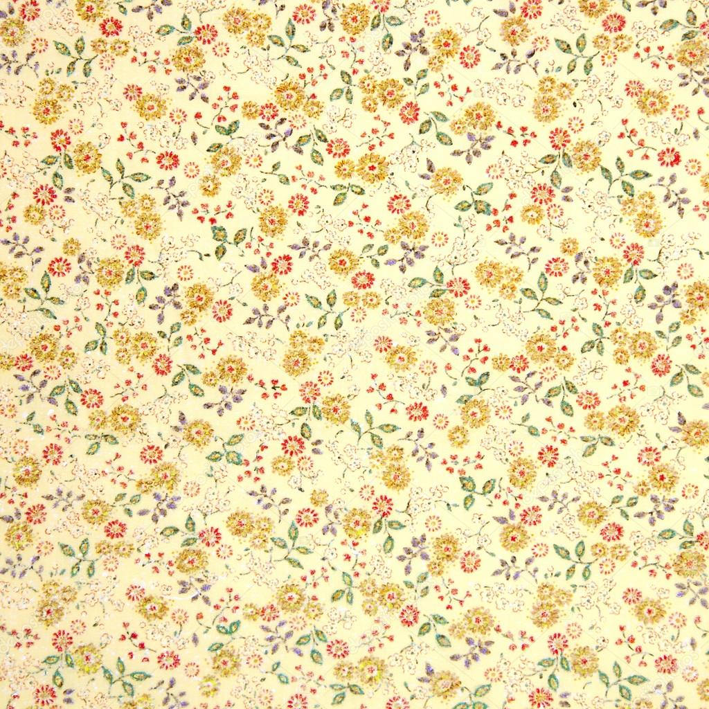 Vintage flower fabric texture stock photo kues 67605339 for Vintage fabric