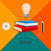 Education concept — Stock Vector