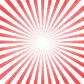 Hand drawn sunrise rays — Stock Vector