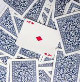 Poker as cards — Stock Photo