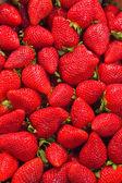 Strawberries texture — Stock Photo