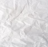 Wrinkled paper texture — Stock Photo
