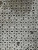 Steel floor — Stock Photo