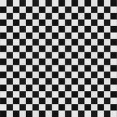 Squared white and black floor texture — Stock Photo