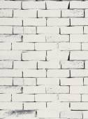 White brick work texture — Stock Photo