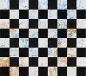 White and black tiles — Stock Photo