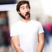 Shocked man — Stock Photo