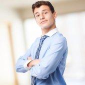 Proud businessman — Stock Photo